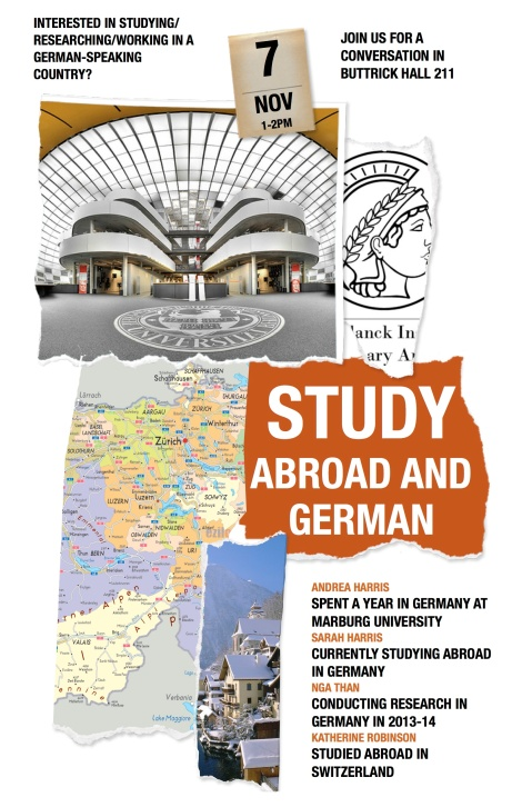 Studying/Researching Abroad in Germany: Info Session @agnesscott