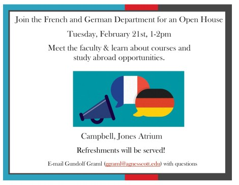 French & German OpenHouse