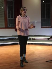 """Abby Breuker reads from Virgil's """"Aeneid"""""""