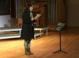 """Evie Wang reads her Latin translation of Elizabeth Bishop's """"Insomnia"""""""